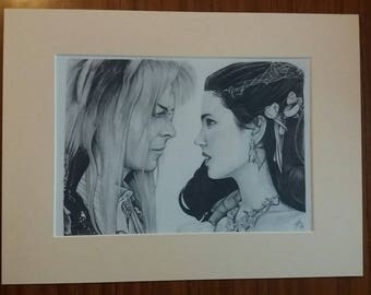 Labyrinth Ballroom 16x12 Hand Signed Limited print