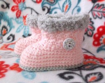 Baby Bootie Pattern Crochet Pattern Baby Boot Crochet Pattern