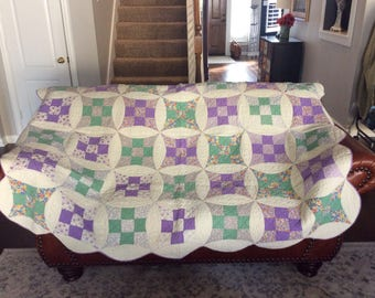 Diamonds and Circles Quilt