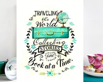 travelling the world collecting stories one book at a time.