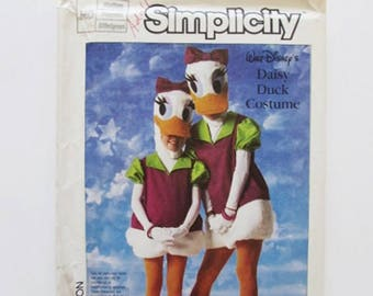 Vintage, Donald Duck and Daisy Duck Costume, Simplicity 7734- Uncut