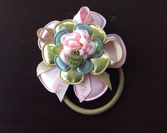 Elastic for girl with Flower