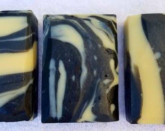 Ebony Swirl Natural Soap