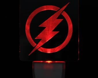 The Flash Light Sensor LED Plug In Night Light, Personalized Custom LED Nightlight