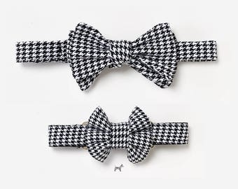 "Bow tie and collar in the partner look set ""SASCHA"""