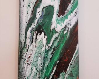 Rain Forest (Abstract Acrylic #104b)