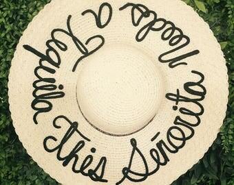 Señorita Beach Hat