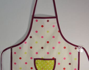Kid's Apron, Cooking Apron, Girl Birthday Present