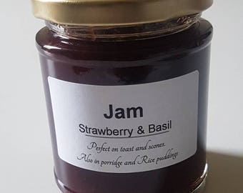 Strawberry and Basil Jam