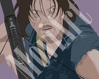 Daryl Dixon by MoviArt