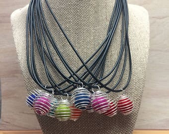 Diffuser necklace, essential oil jewelry