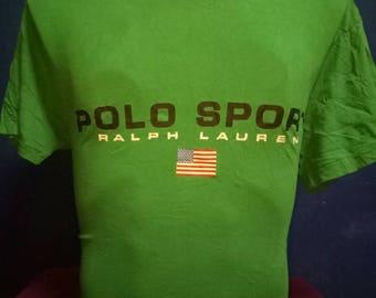 Vintage 90s Polo Sport T Shirt SizeM