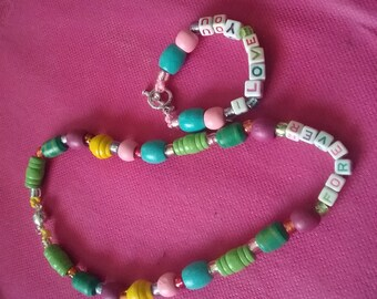 Little girl jewelry  set