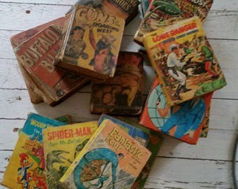 Vintage Collection Of 18 Big-Little Books