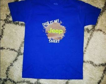 TODDLER This Is My Jeep Shirt