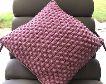 Crochet Bobble Cushion