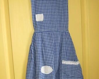 Granny apron and Kit 10 eco-friendly wipes