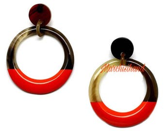 Lacquer earings