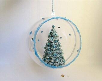ball Christmas tree ornament hook
