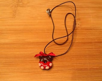 Necklace little mouse license