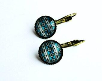 Bronze Stud Earrings