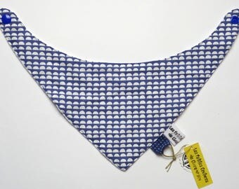 Bandana / bib for baby girl - Bib - Antibavouile - Mini waves