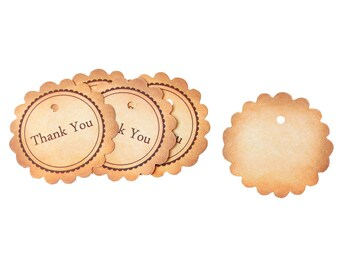 20 labels - round - Thank You C1