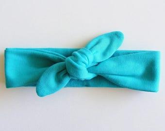 Headband / Mint (mint) dark mesh headband