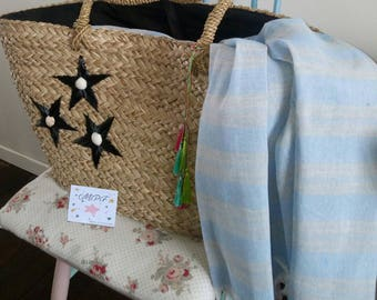 Tote, beach basket or shopping bag