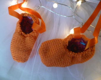 Baby dancer cotton Orange / Bronze