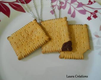 Necklace big cookie