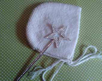 Baby bonnet Hat retro baby