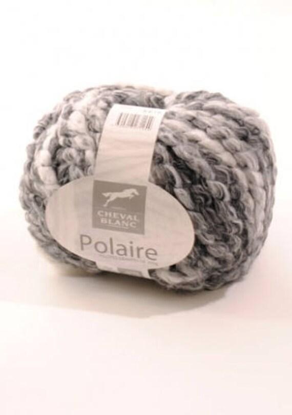 grosse laine tricoter n125 panda polaire de cheval blanc. Black Bedroom Furniture Sets. Home Design Ideas