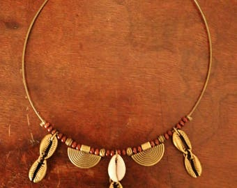 Ethnic African inspired necklace