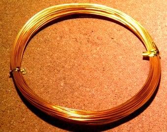 10 meters of thread of aluminum in 0.8 mm copper - C.