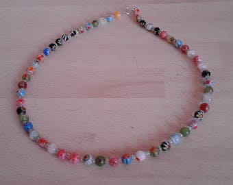 Childrens Flower Bead necklace