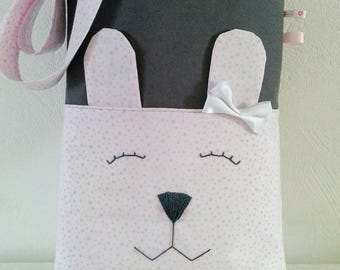 Tote bag, practical and cute rabbit