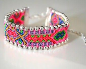 "Friendship bracelet ""Malaya"" (unique piece) Made in France"