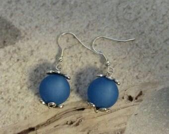 Polaris Sapphire dangle earrings