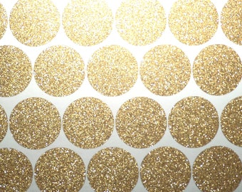 10 stickers stickers round silver or gold glitter pink