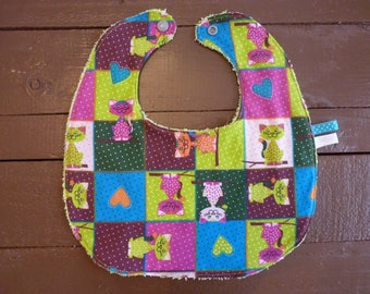 Bib lined baby - free shipping