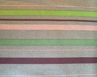 Green Stripe Zoo Animals -Fabricland/Fabricville