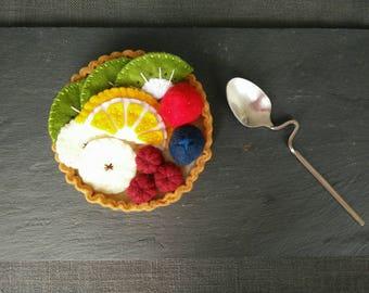The felt fruit tart