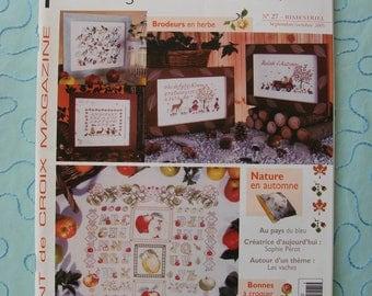 "Embroidery ""Magazine cross stitch"" magazine number 27 - September / October 2003."