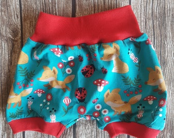 Short pants foxes size 68/74