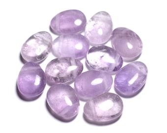 Gemstone - Amethyst Lavender Teardrop 25mm - 4558550092175 pendant
