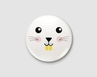 Animals - Bunny badge
