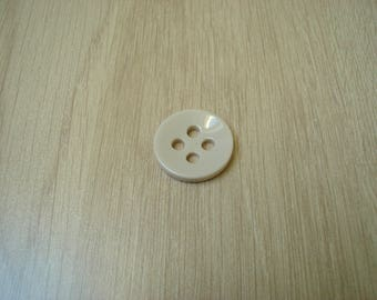 light brown round shape button