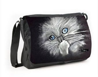 Satchel cat pattern
