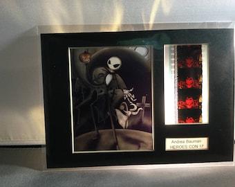 Nightmare Before Christmas Jack Skeleington, With Movie Cell